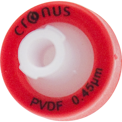 .45µm Cronus® 13mm Syringe Filters, PVDF (Bag/1000)