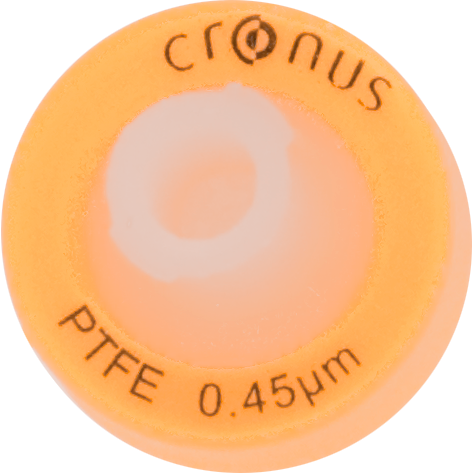 .45µm Cronus® 13mm Syringe Filters, PTFE (Pack/100)