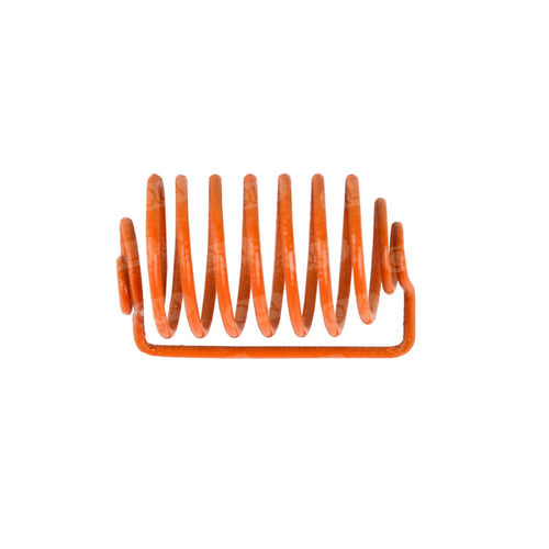 Orange Epoxy Coated Sinker with 6.5 spirals, 24 x 12.3mm capacity