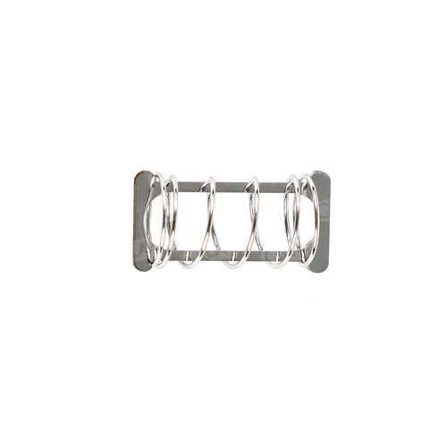 Stainless Steel Spring Style Sinker, 15.5 × 5mm capacity