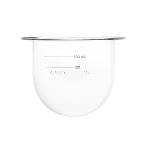500mL Clear Glass Vessel, Agilent/VanKel compatible