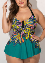 Printed Tankini Set