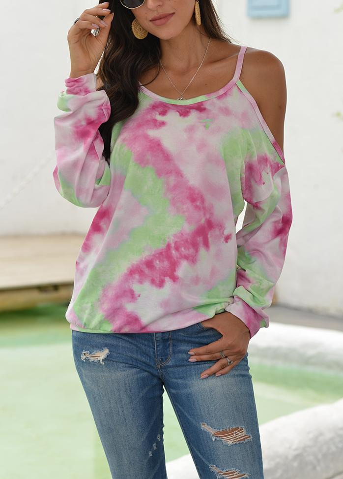 Gradient Casual Long Sleeve T-shirt