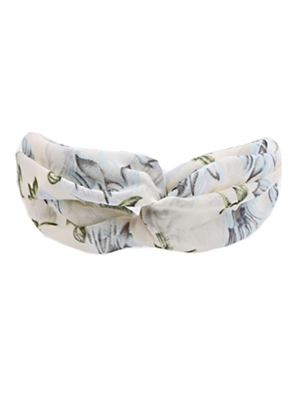 Printed Cross Fitness Headband