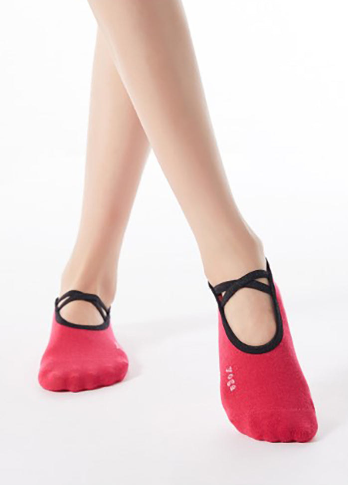 Solid Color Yoga Socks