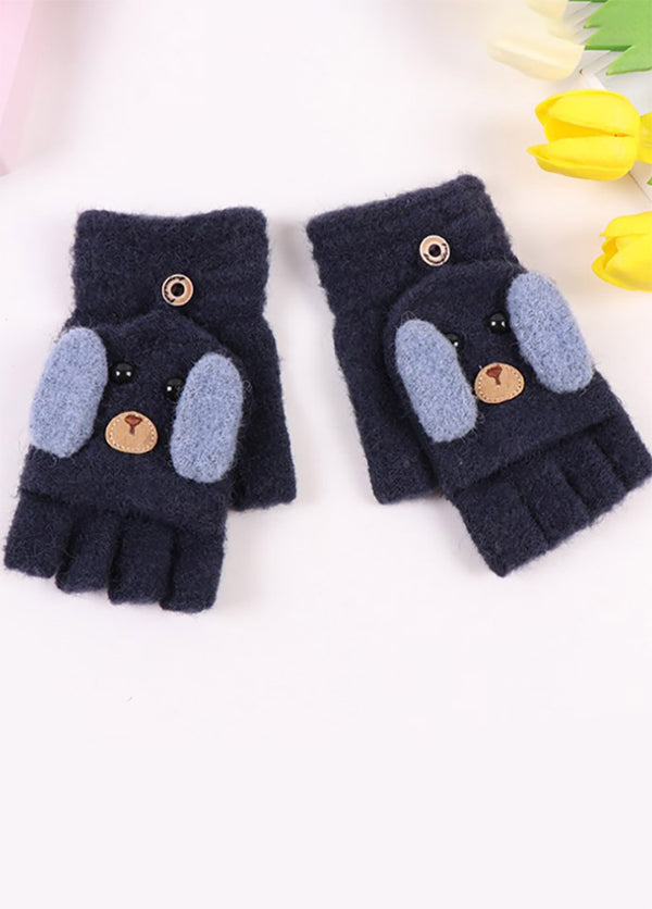 Cartoon Dog Gloves