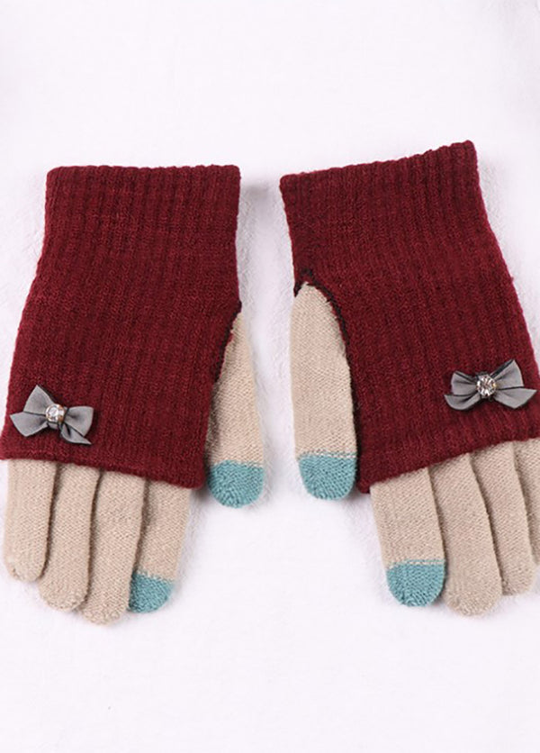 Patchwork Ridding Gloves