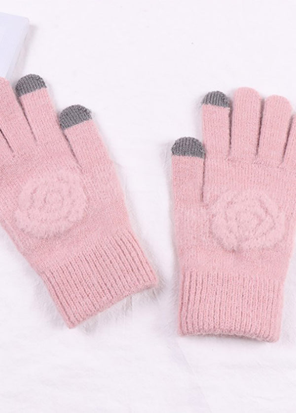 Flower Pattern Gloves
