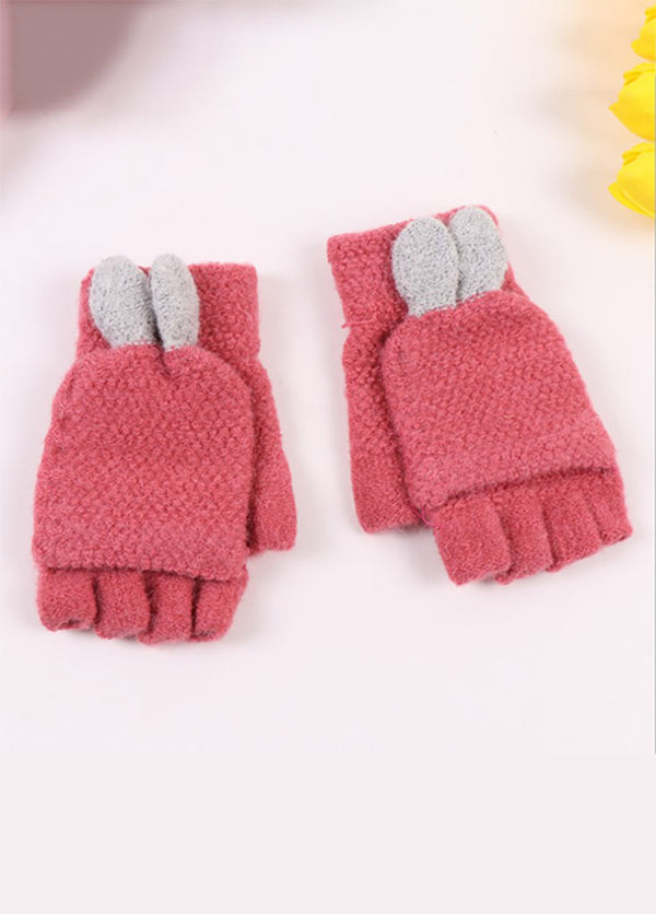 Solid Color Warm Gloves