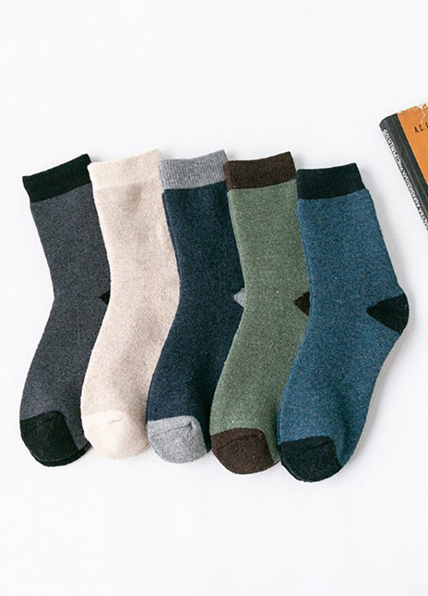 Patchwork Women's  Socks 5 Pack