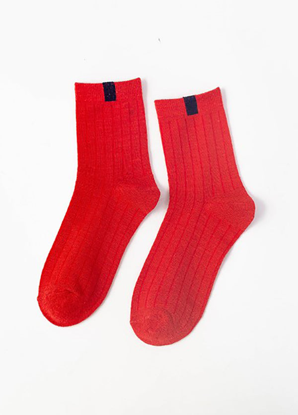 Striped Cotton Women's Socks