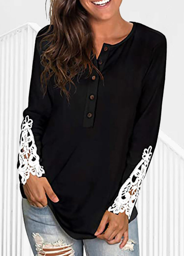 Casual Button Long Sleeve Shirt