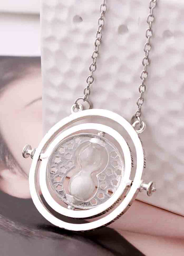 Time Converter Hourglass Necklace
