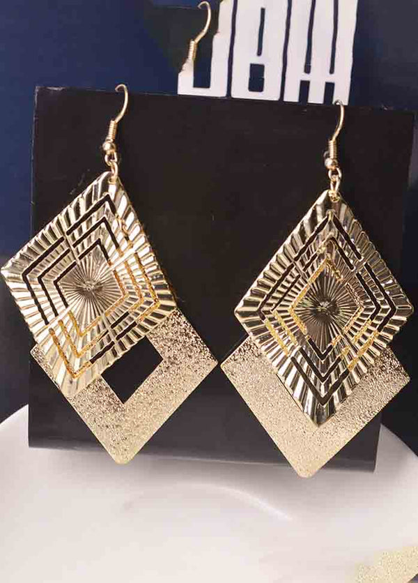 Diamond All-Match Earrings