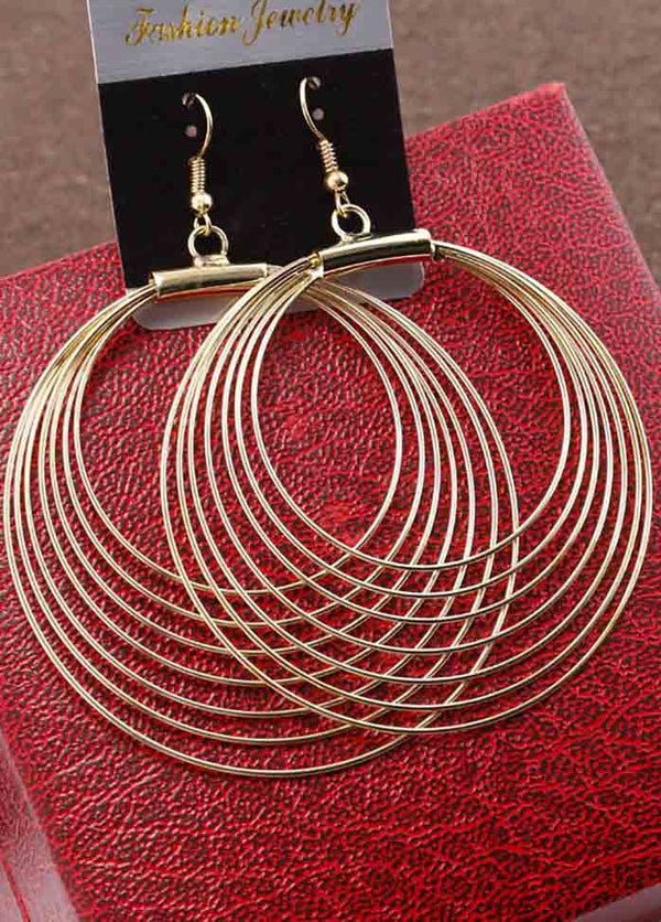 Multi-Layer Hoop Earrings