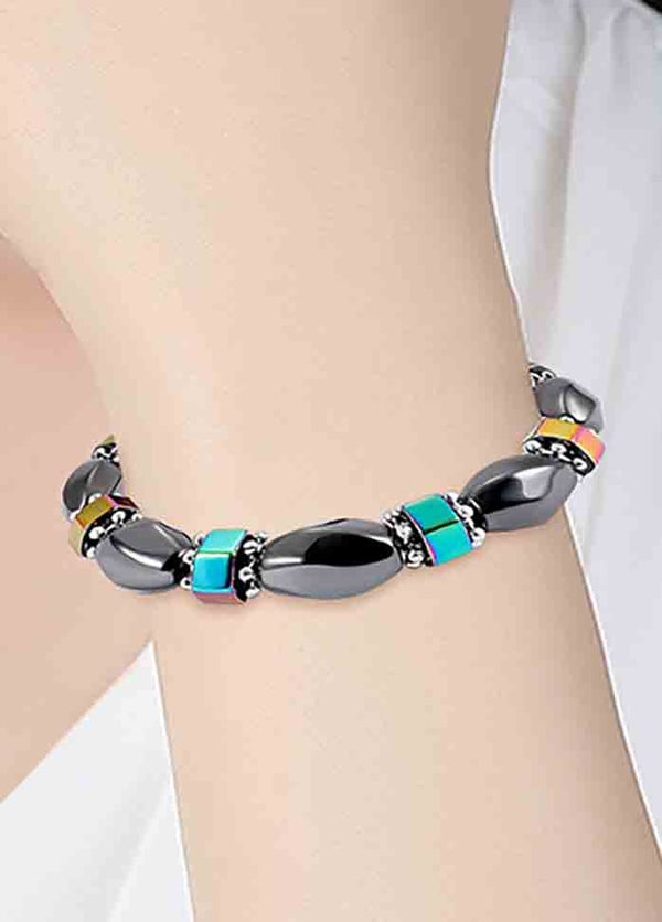 Magnetic Black Magnet Stretch Bracelet