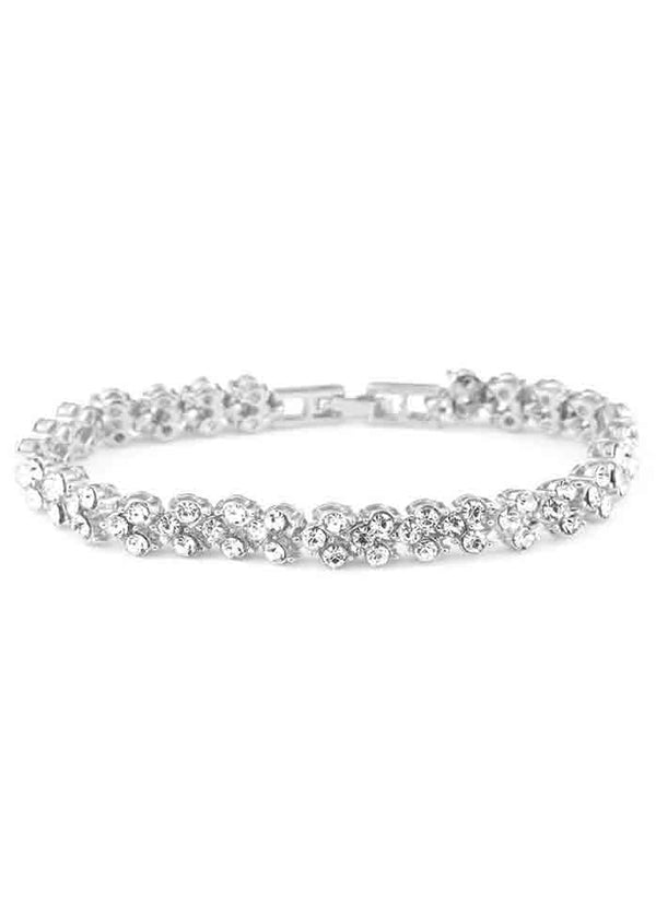 Luxury Roman Crystal Bracelet