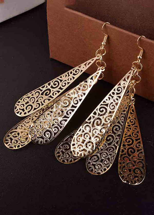 Vintage Cutout Earrings