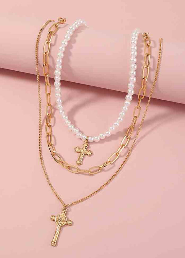 Vintage Cross Necklace