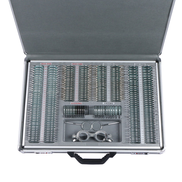 UCanSee® 266 pcs Optical Trial Lens Set Kit Metal Rim Aluminum Case