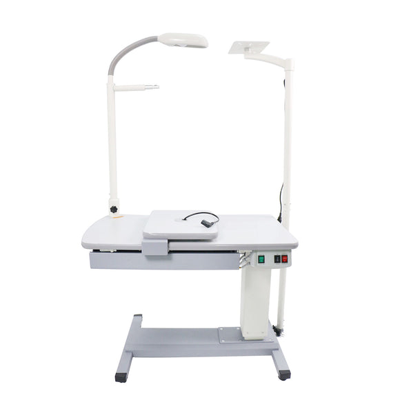 Ophthalmic Combination Table Optometrist Electric Work Table Removable