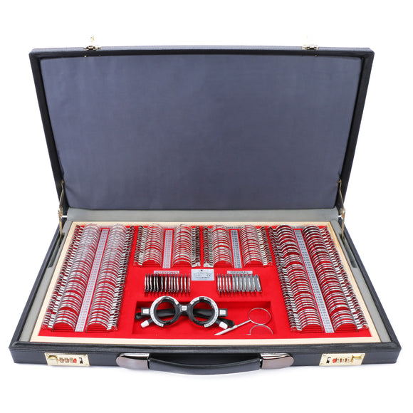 266 pcs Trial Lens Set Kit PU Case CE FDA