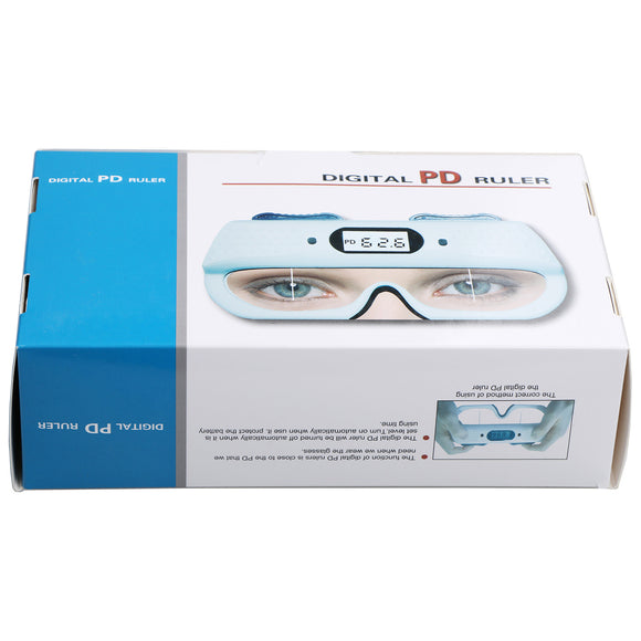 Optical Digital PD Ruler Pupilometer Interpupillary Distance Tester