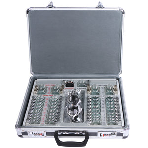UCanSee® 104 pcs Trial Lens Set Optometry Kit Metal Rim Aluminum Case