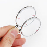 68 pcs Trial lens Set Optical Case Metal Rim Leather Case