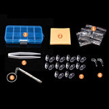 Eyeglass Repair Kit with Screw Nose Pad and Mini Screw Driver