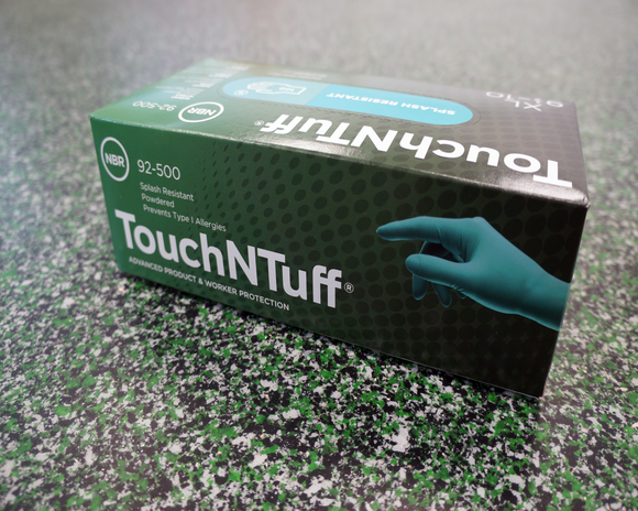 Touch and Tuff NItrile Gloves (M, L, XL) - box of 100