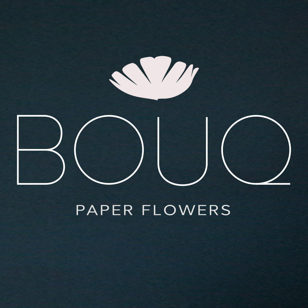 Grand Opening of BOUQ Paper Flowers Online