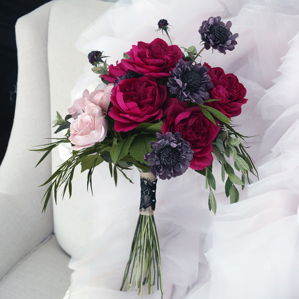 The Famke Bouquet Arrangement from Italian Crepe Paper