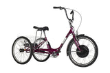 Traditional-24-Electric-Trike-Violet-Pearl-1