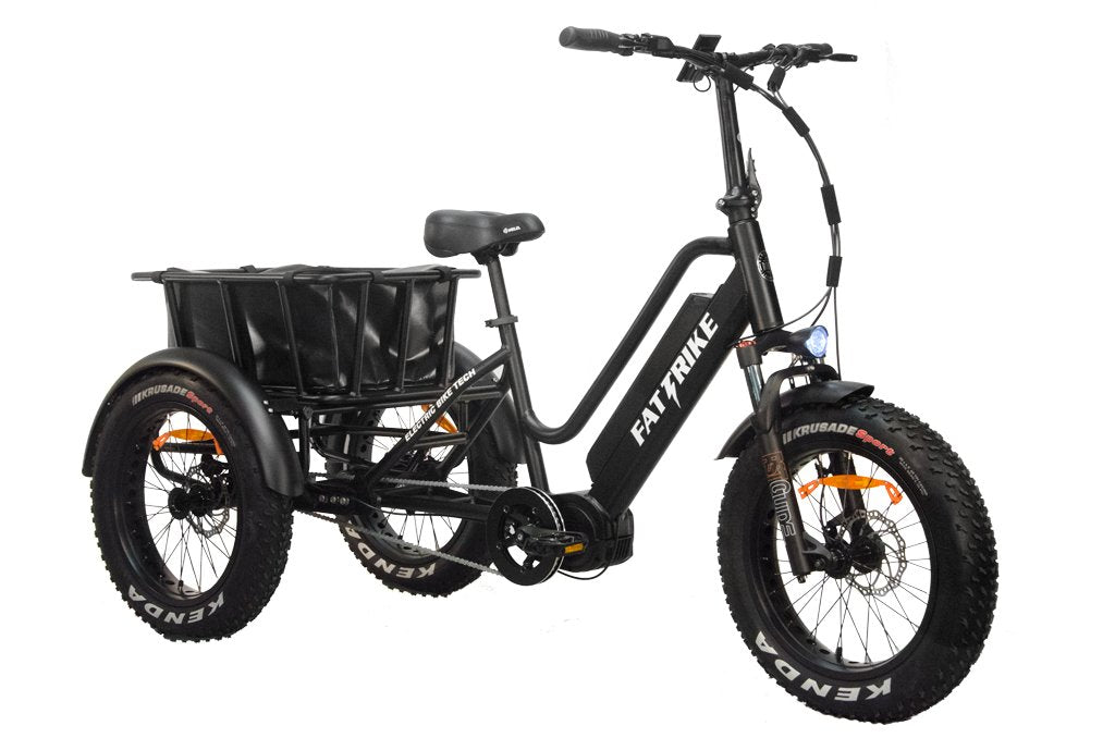 Electric Mid-Drive Fat Trike