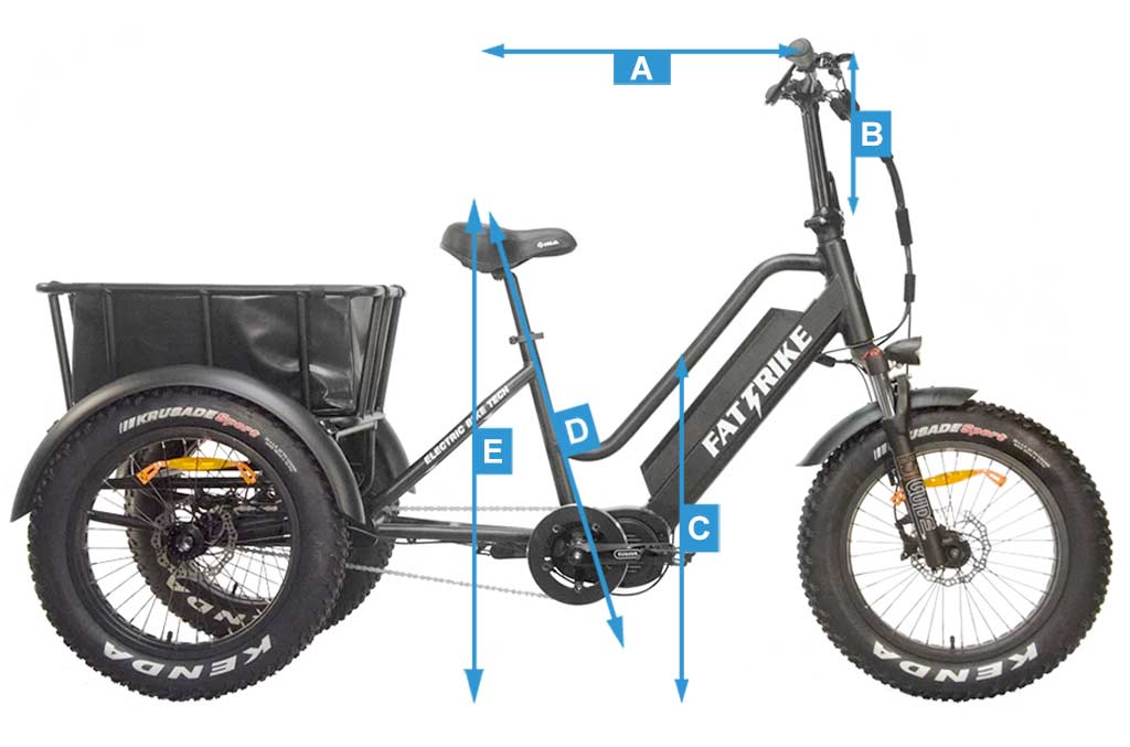 Sizing your Mid Drive Fat Trike