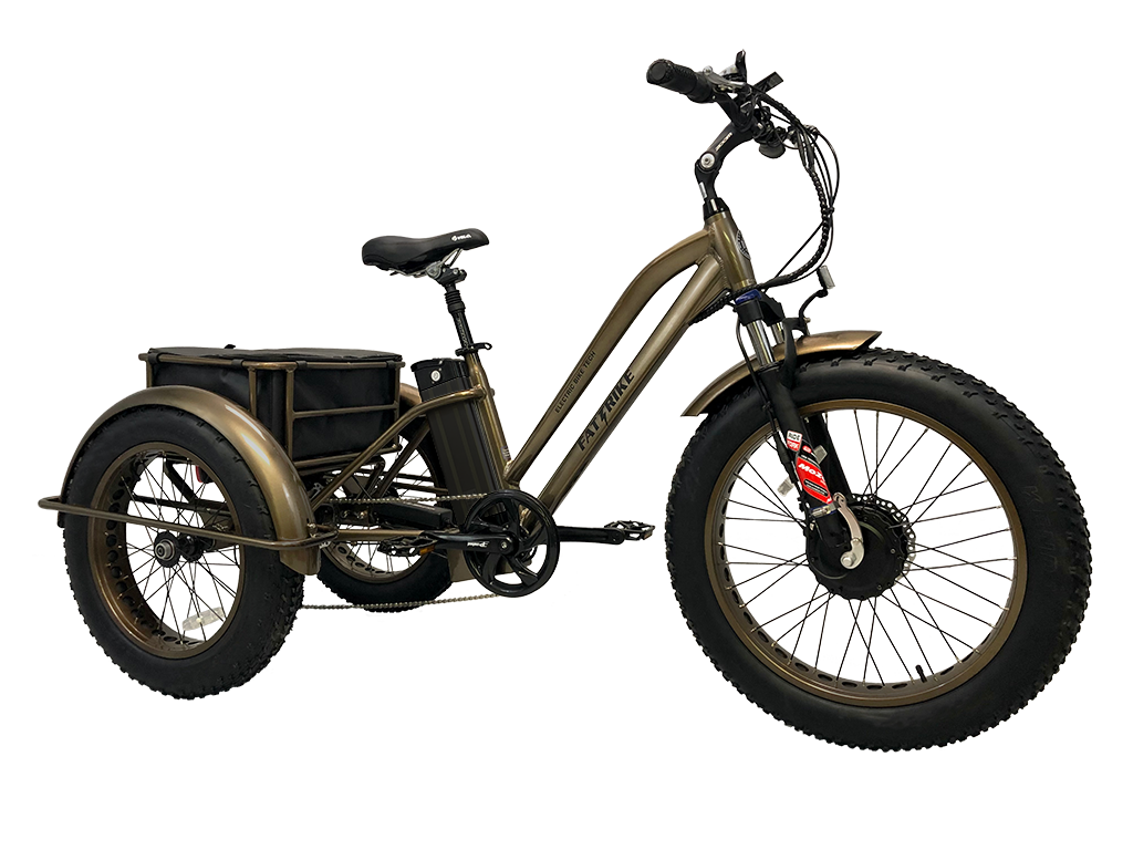 The electric Fat Trike is the perfect off-road trike campible on handling many trails