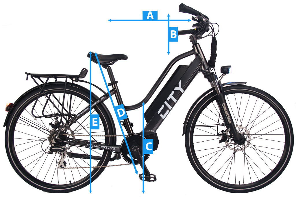 Sizing your Electric City Bike