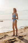 Freya One-Piece - Dusty Blue