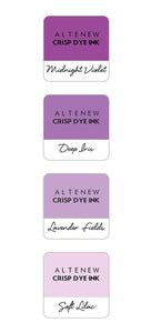 Altenew Crisp Dye Ink Mini Cube Set - Shades of Purple