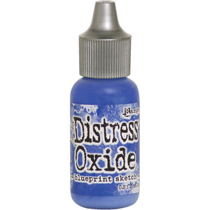 Tim Holtz Distress Oxides Reinker Blueprint Sketch