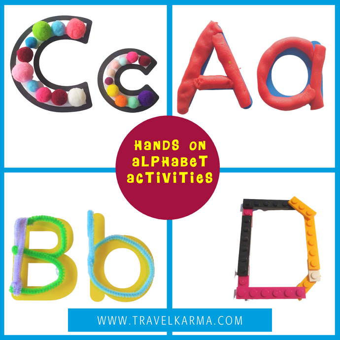 18 Sensory Alphabet letter activities for preschoolers