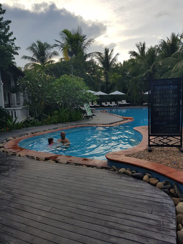 Child friendly Pool at Hoi An Vinh Hung Riverside Resort