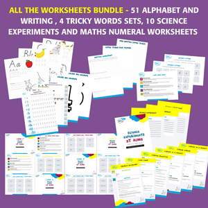 All the Worksheets Value Bundle
