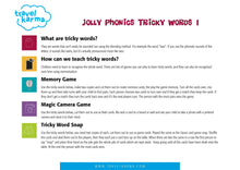 Load image into Gallery viewer, Jolly Phonics Group 1 Tricky Words Printable Flashcards