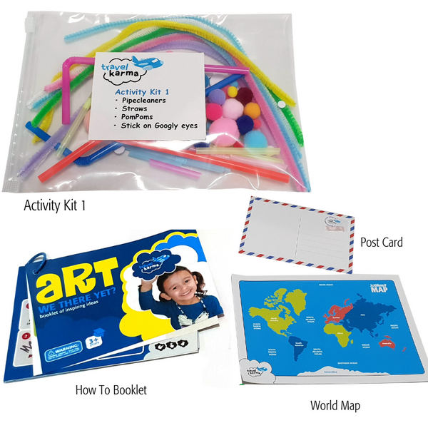 Immerse them in senses with the Sensory Bend, Create, and Play Kit