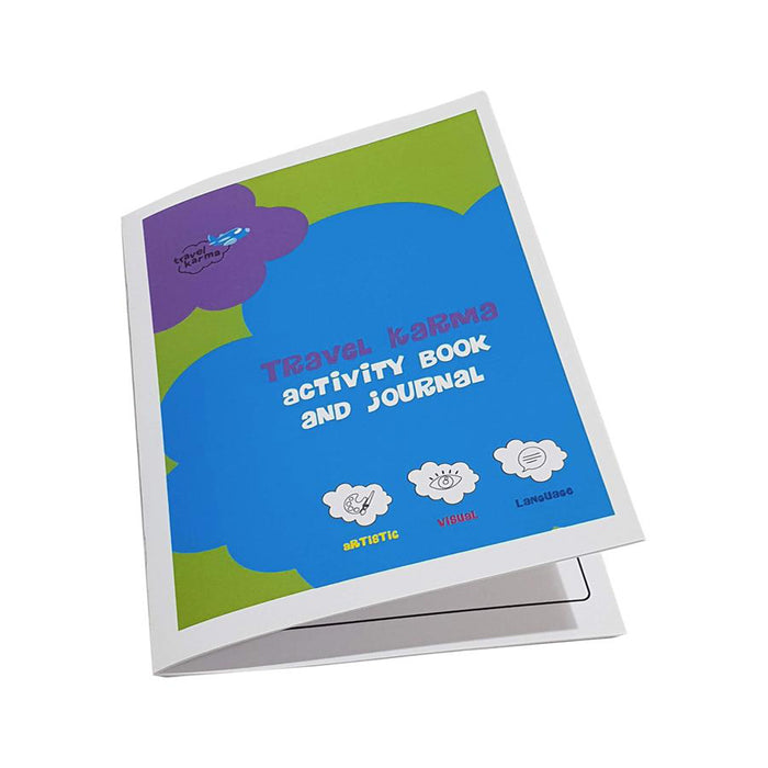 Activity book and Travel Journal - Digital Download