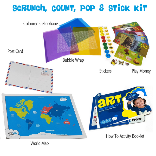 Scrunch, Count, Pop and Stick Kit
