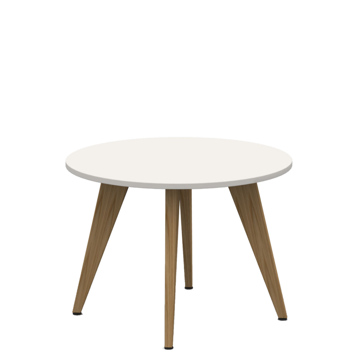 Mobili Pyramid Wood Table Office White