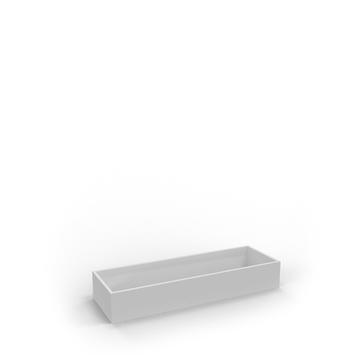 Edsbyn Office Neat Green Planter Box White 1200mm